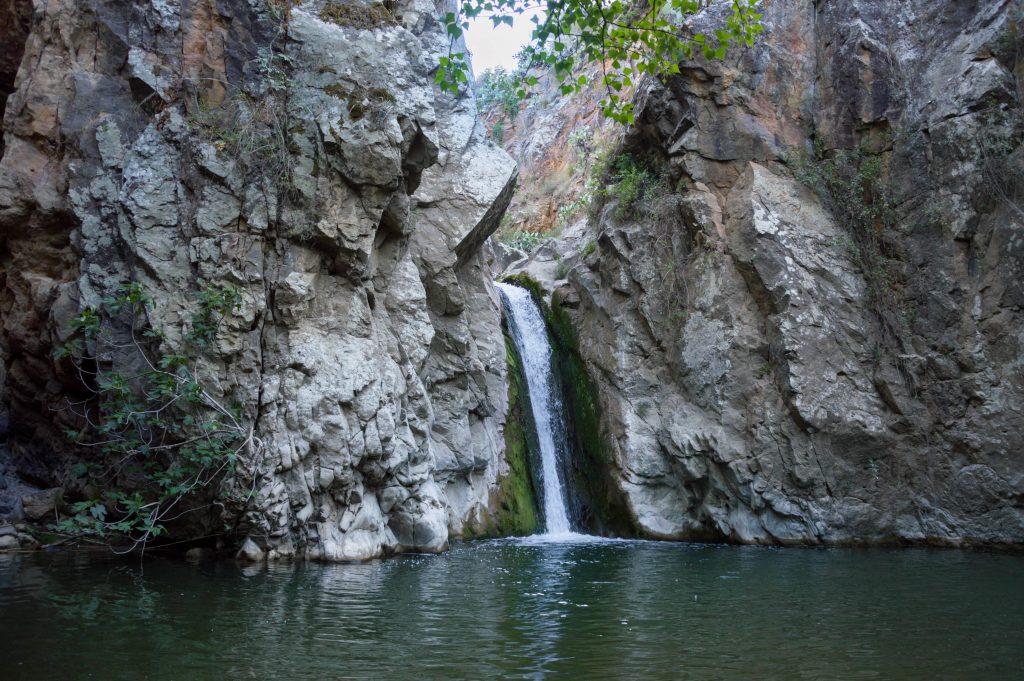 Cascata di San Nicola in provincia di Palermo