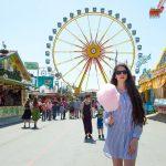 Frühlingsfest ruota panoramica