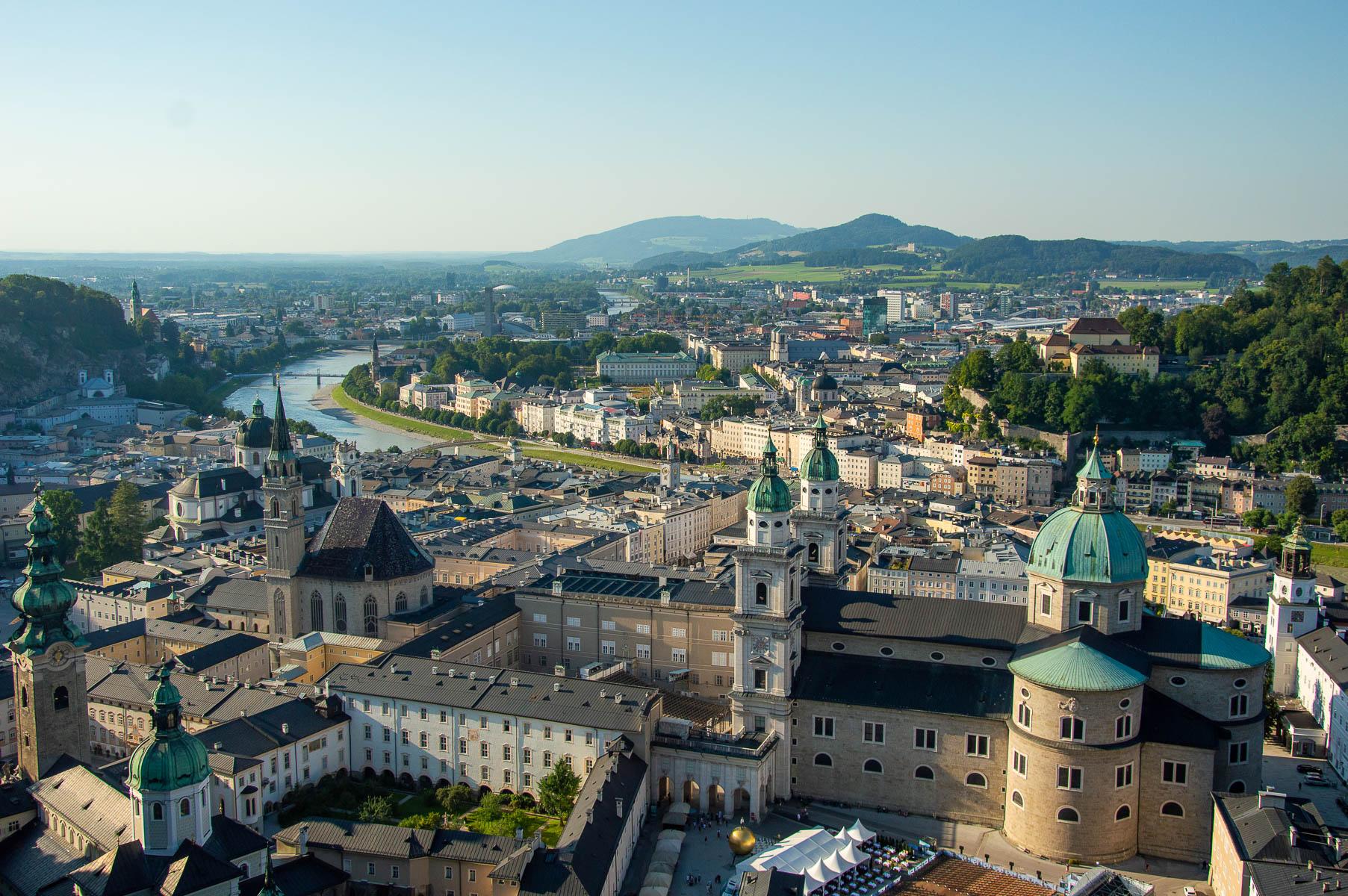 Salisburgo dall'alto