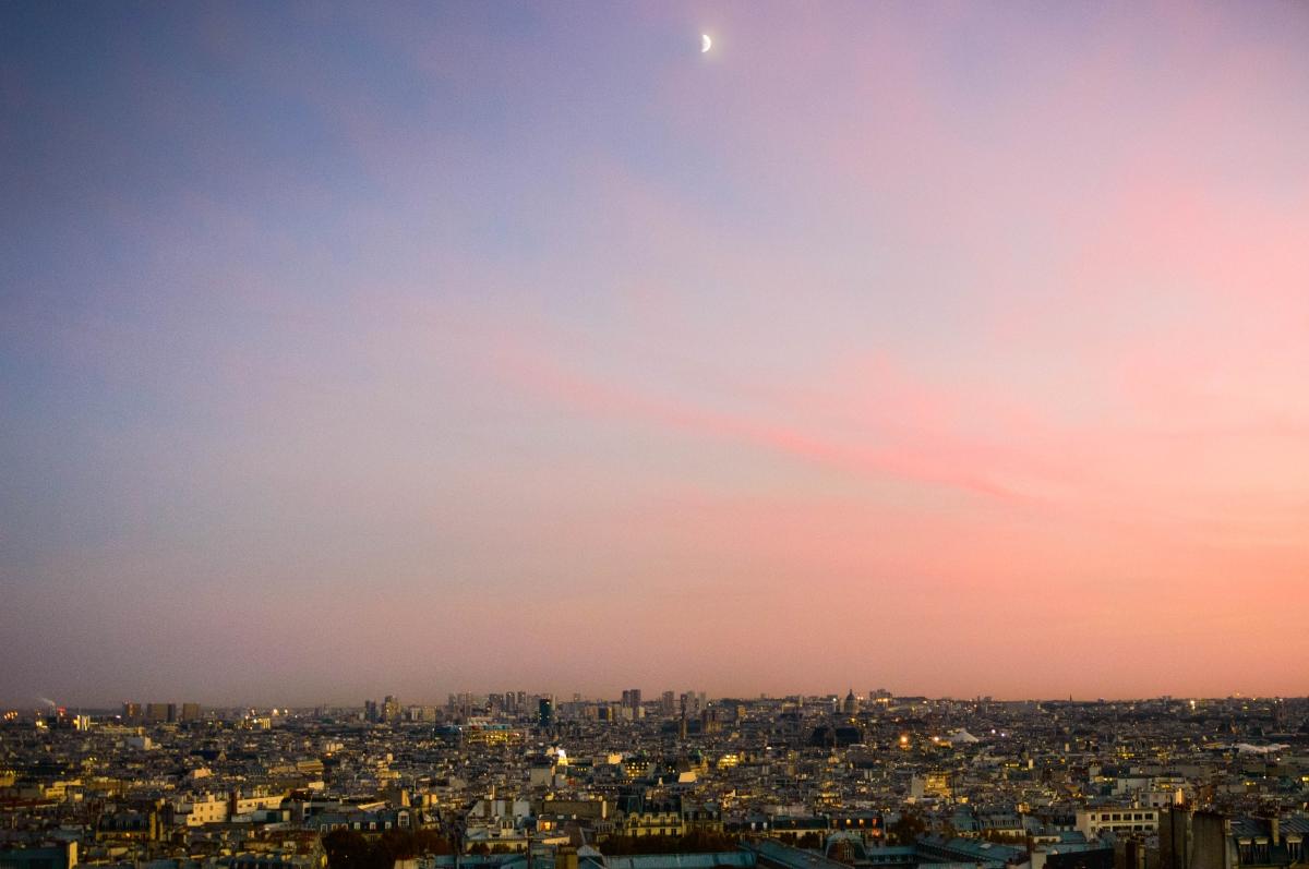 Tramonto Parigi