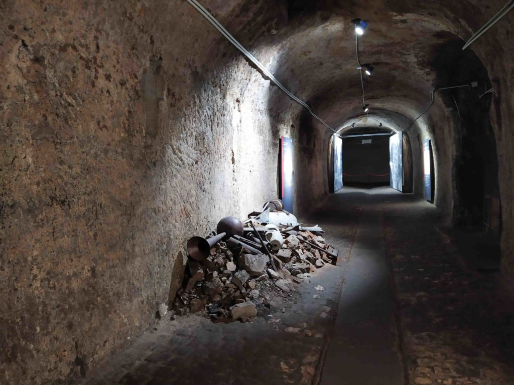 Cumuli Historischer Kunstbunker