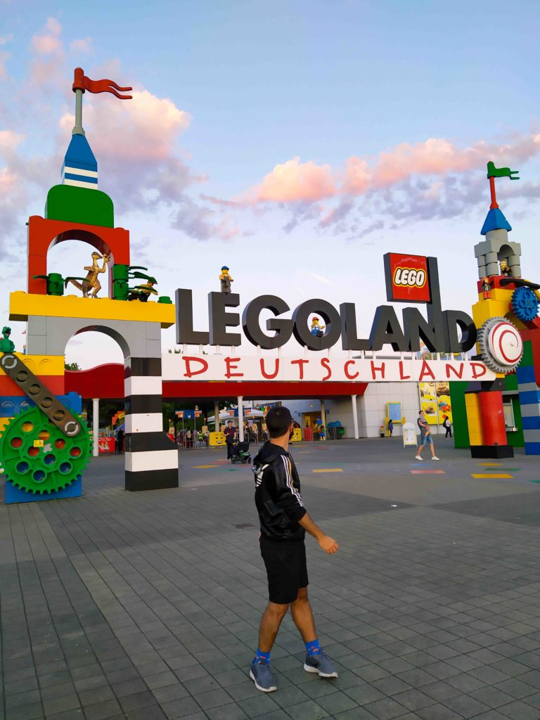 Ignazio Chinnici a Legoland Deutschland