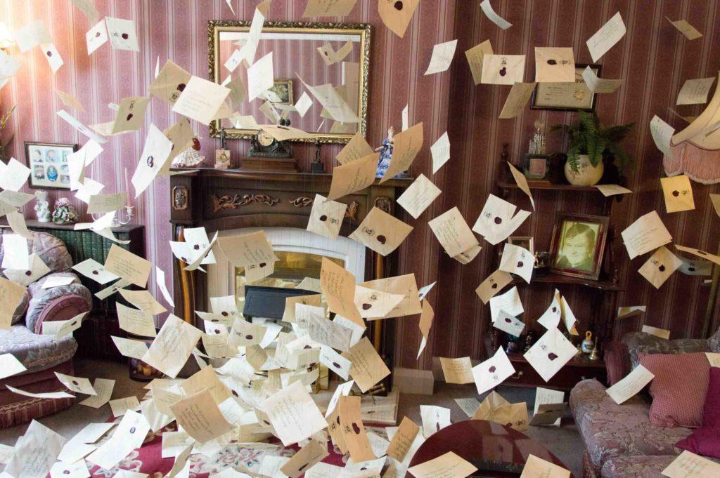 Lettere Hogwarts Warner Bros Studios