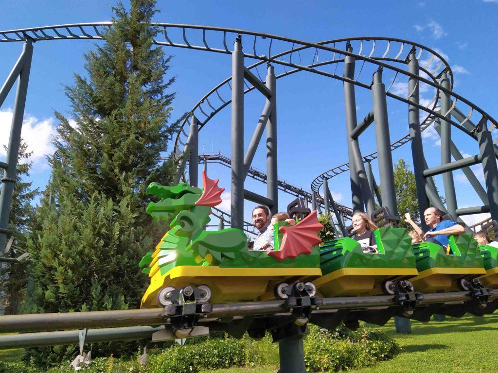 Montagne russe a Legoland Deutschland