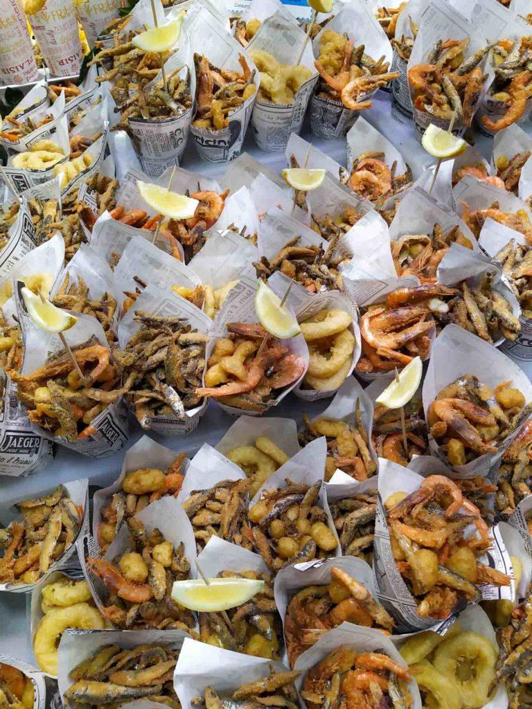 Pesce fritto - La boqueria