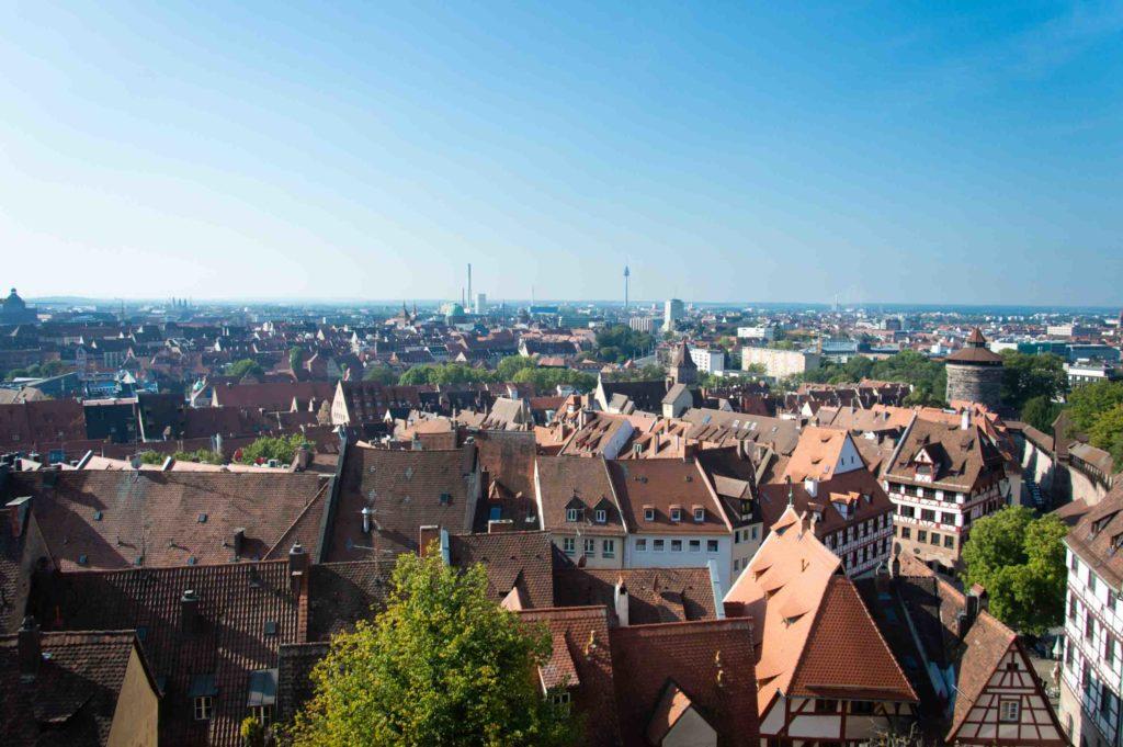 Norimberga dall'alto