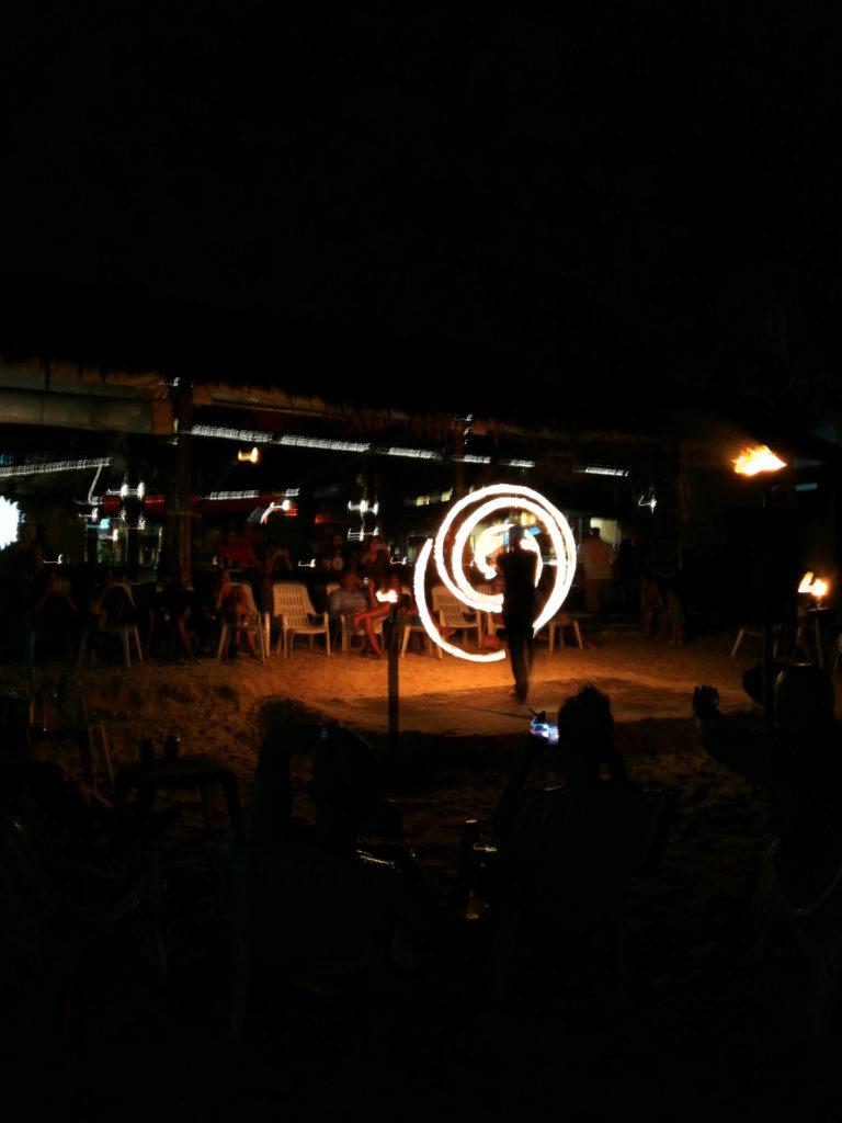 Spettacolo di fuoco a Phi Phi Don