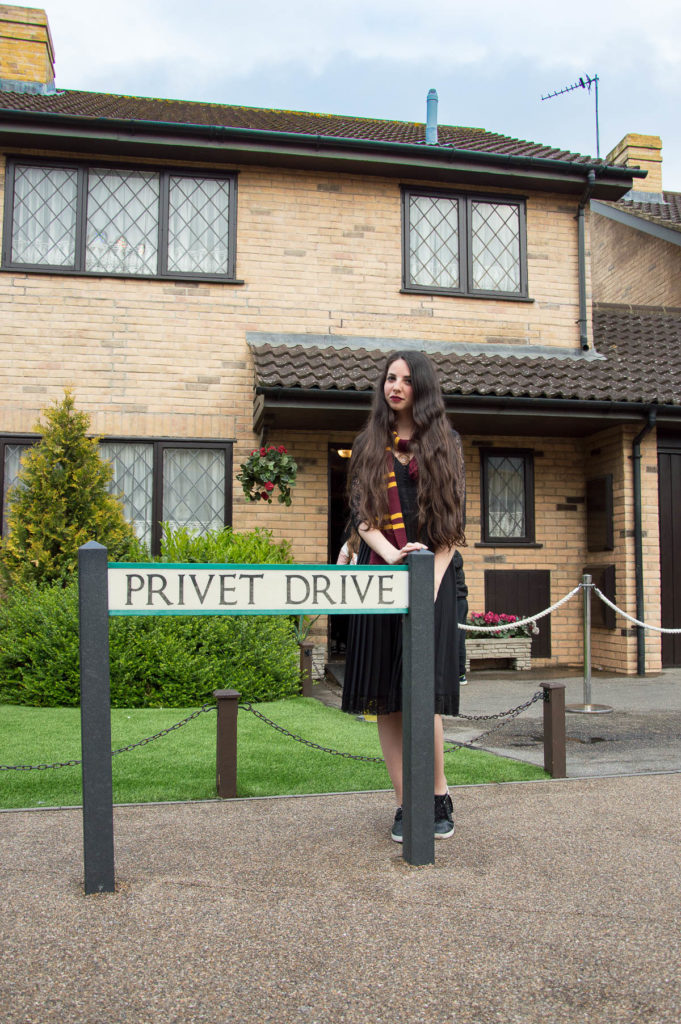 Privet Drive al Warner Bros Studio Tour London