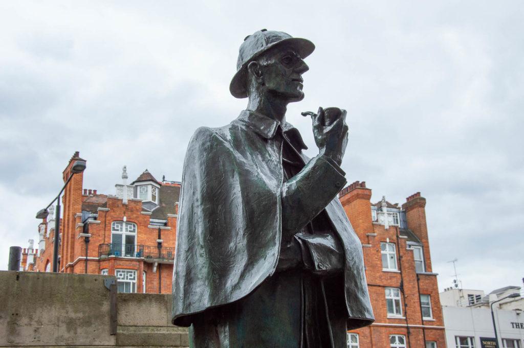 Statua Sherlock Londra