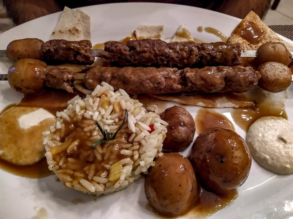 Kebab Cafè Babouche di Marrakech