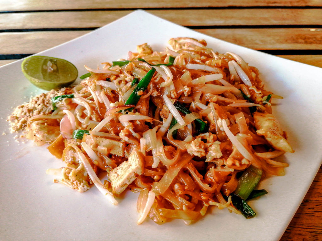 Pad thai Railay Family Restaurant