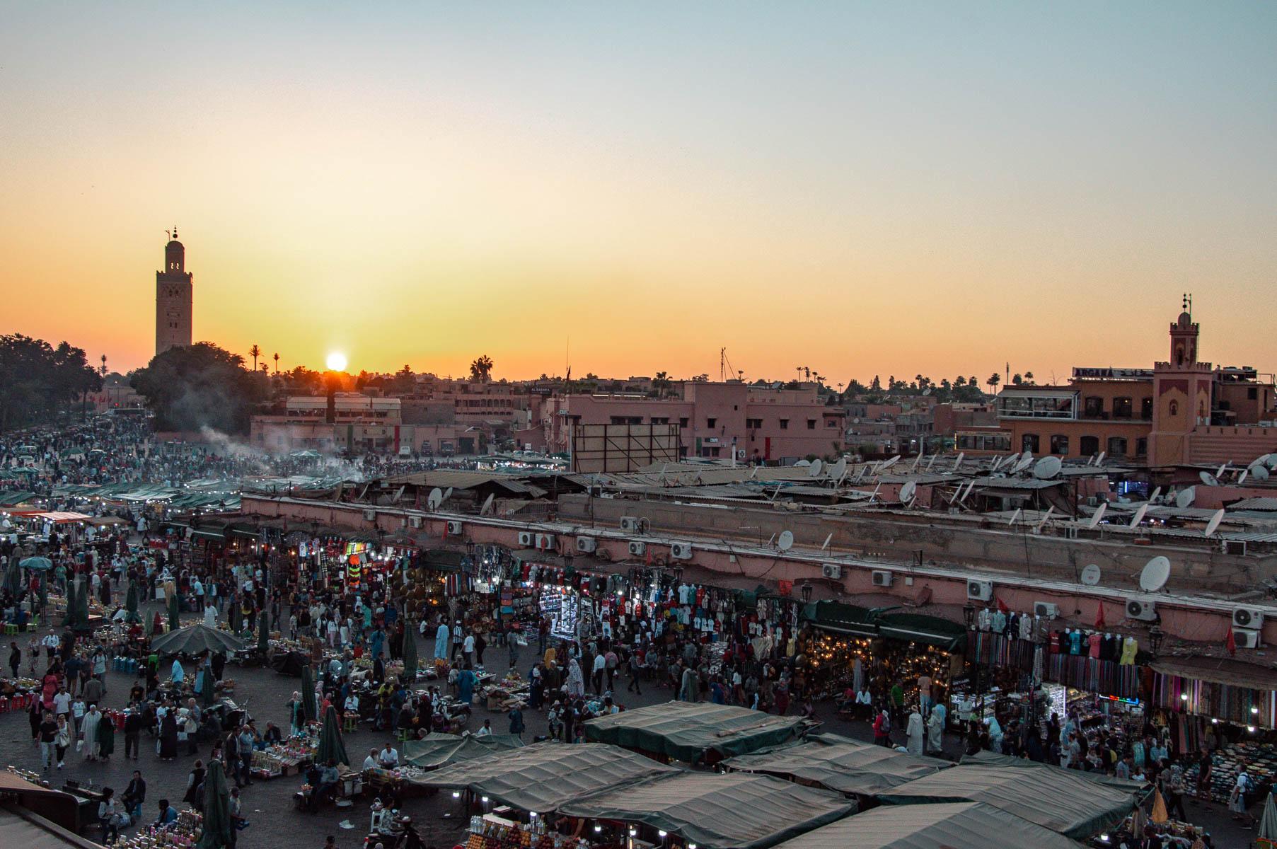 Place Jema el Fnaa Marrakech