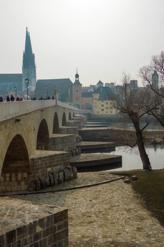 Ponte di pietra Ratisbona
