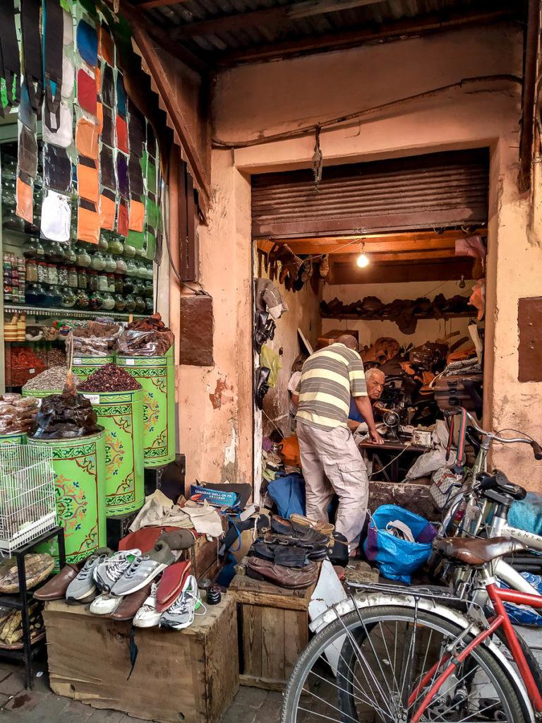 Souq della Medina di Marrakech