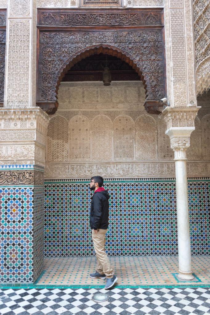 La Madrasa Bou Inania di Fes