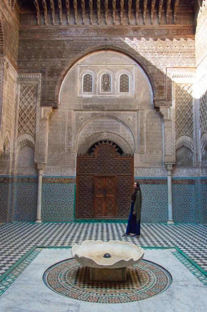 Madrasa Bou Inania, la scuola coranica di Fes
