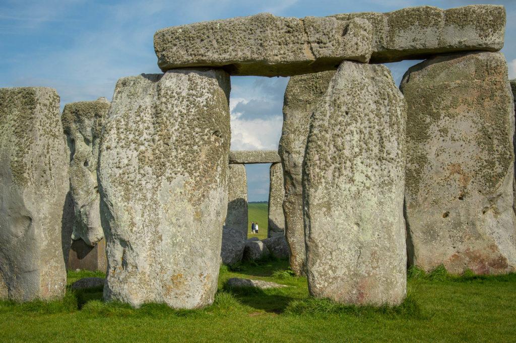 Sito archeologico di stonehenge in Inghilterra