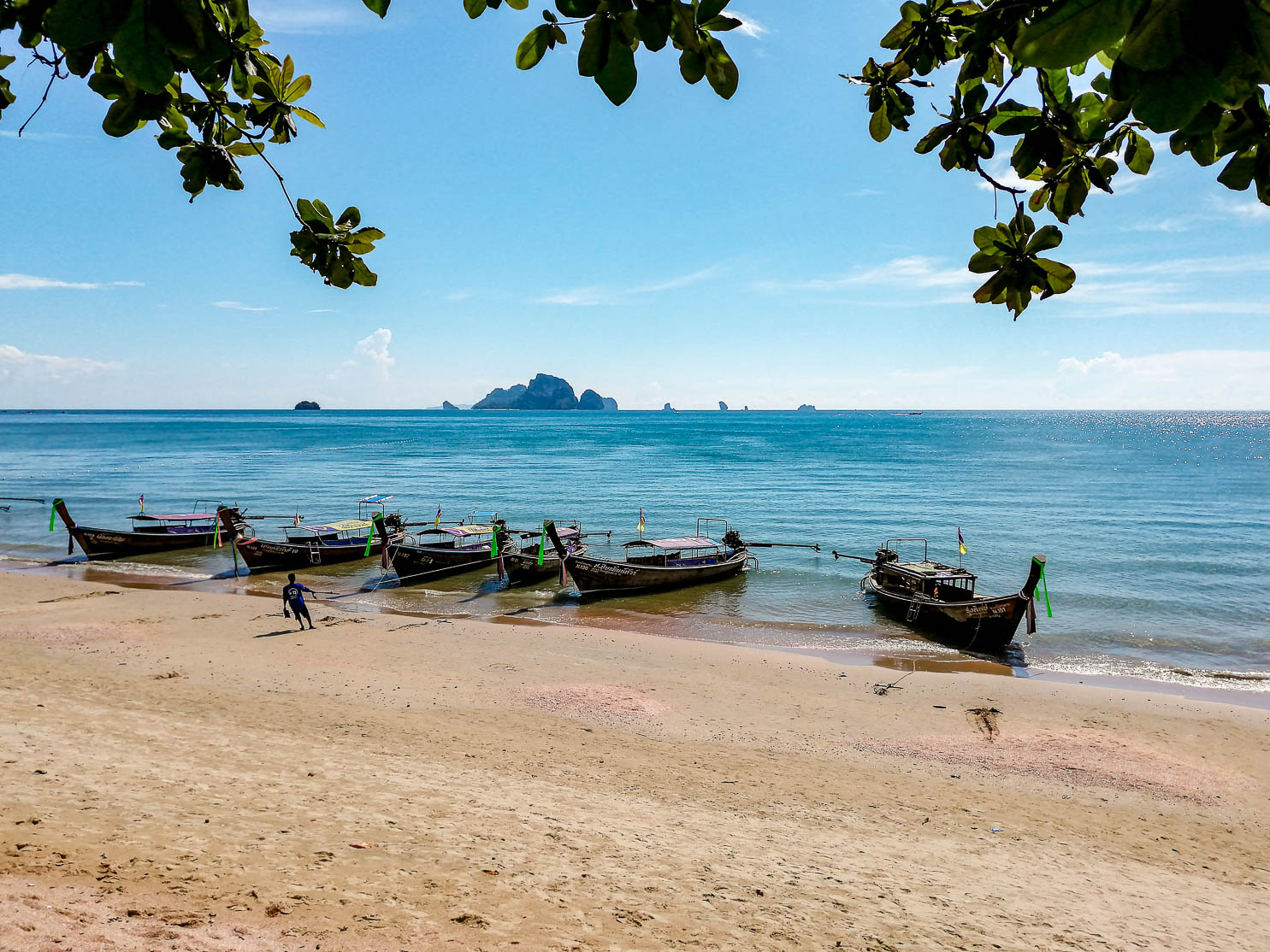 Cose da fare in Thailandia: spiaggia di Ao Nang