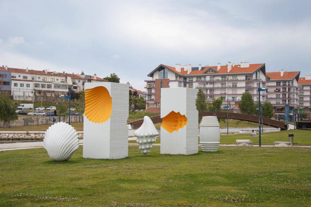 Monumento agli ovos moles ad Aveiro
