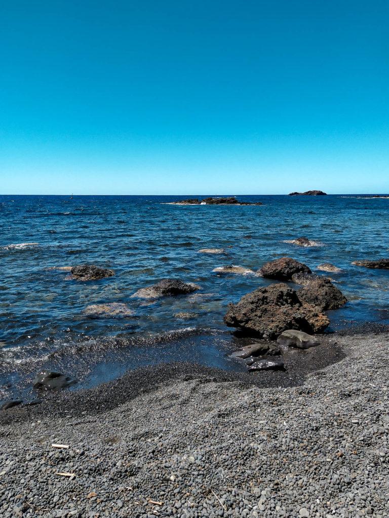 Spiaggia di Cala Sidoti ad Ustica