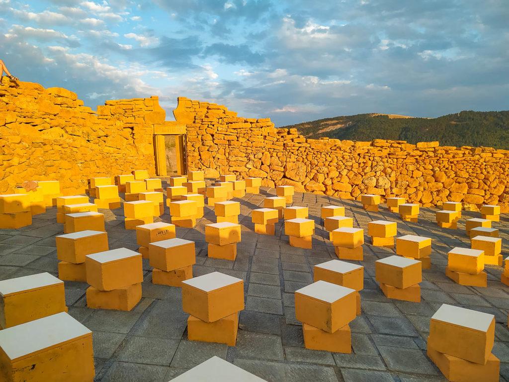 Cubi del teatro Andromeda