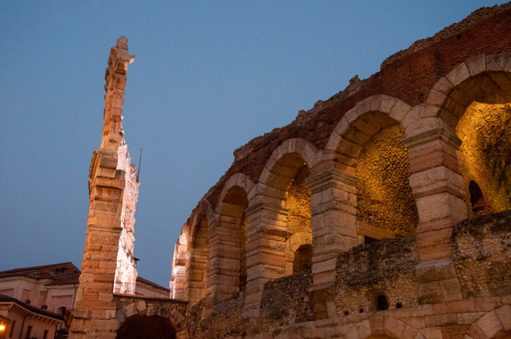Arena di Verona di sera
