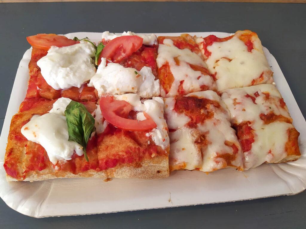 Pizza della pizzeria Dal Grano a Verona