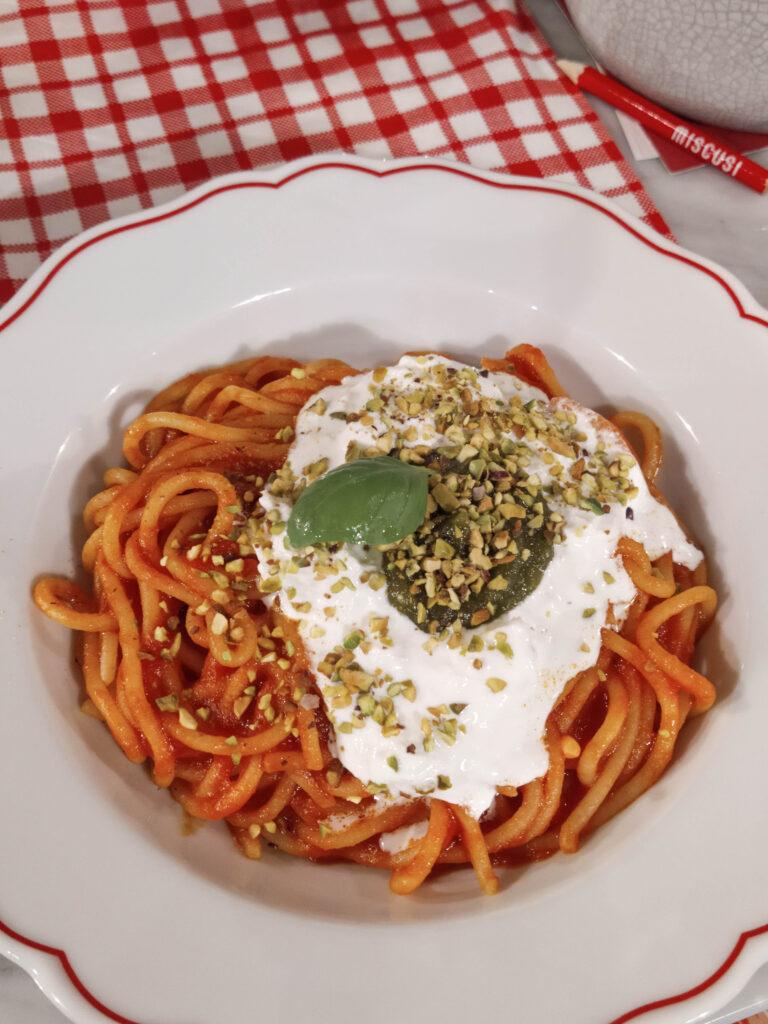 Spaghetti tricolore di Mi Scusi