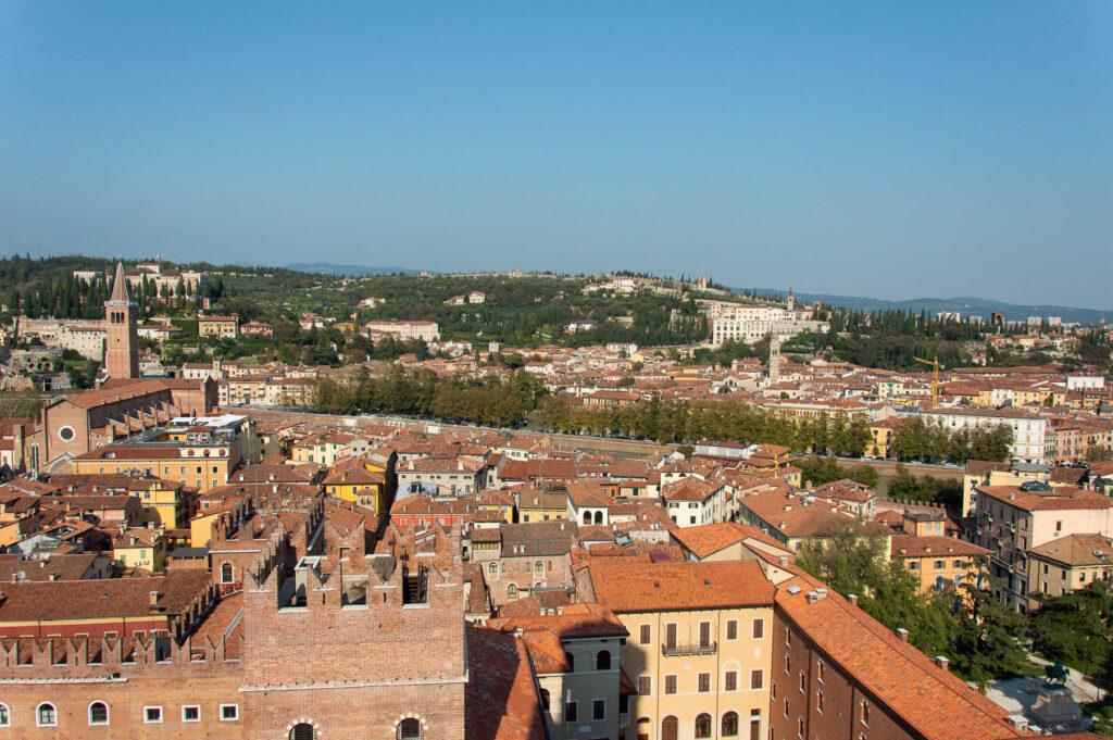 Vista di Verona dalla torre dei Lamberti