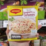 Carbonara in busta dei supermercati tedeschi