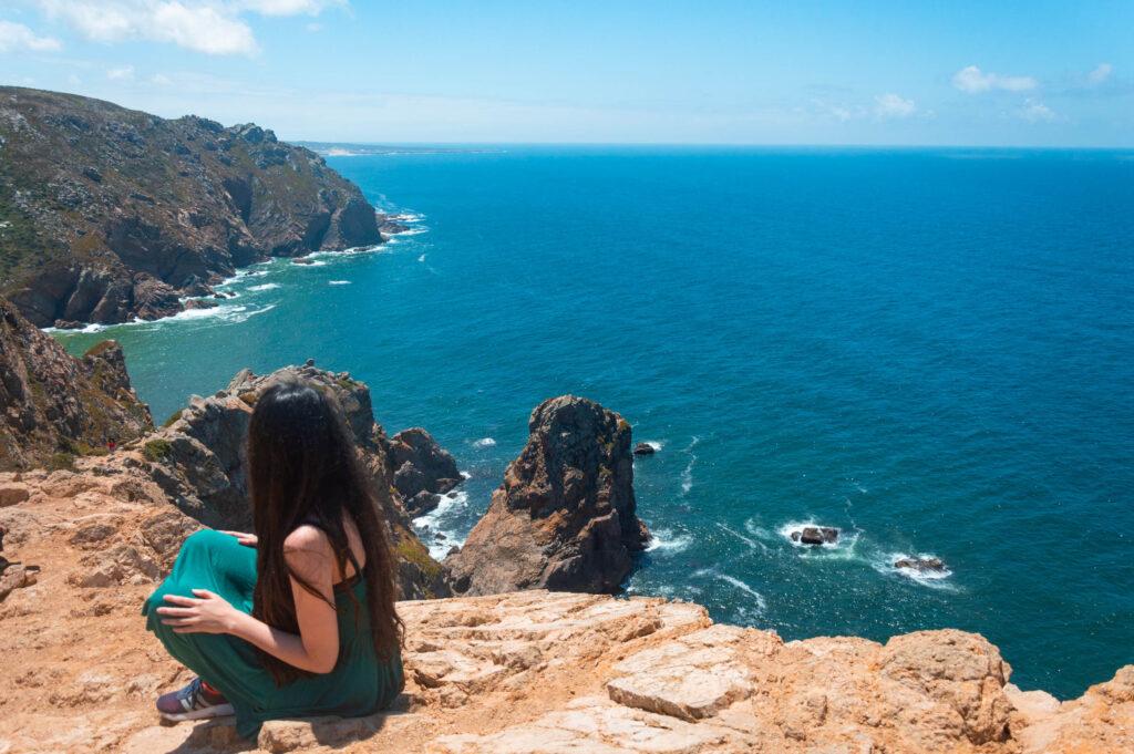Promontorio di Cabo da Roca in Portogallo
