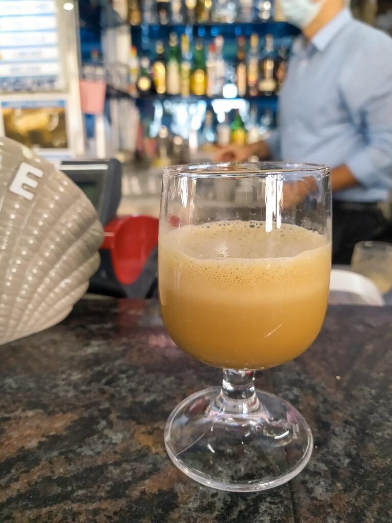 Caffè speciale di Super mago del gelo a Polignano a Mare