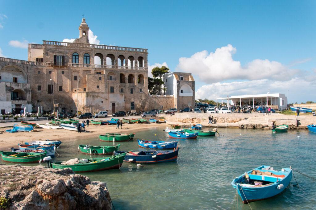 Scorcio di San Vito, frazione di Polignano a Mare
