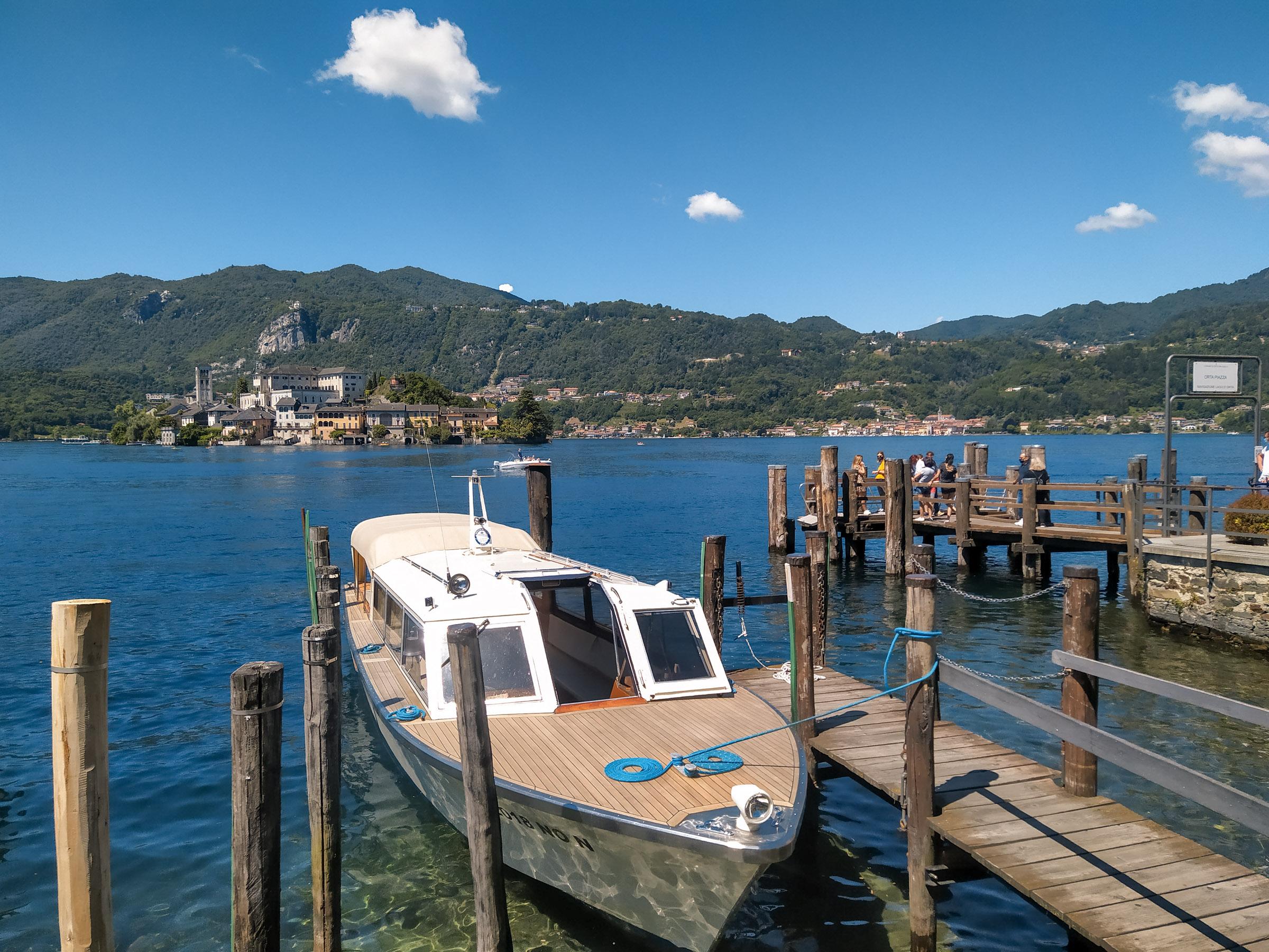 Lago d'Orta e isola di San Giulio